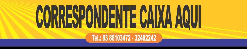 CORRESPONDENTE DA CAIXA EM CABEDELO - PB